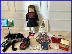RETIRED Pleasant Company American Girl Doll Molly McIntire +outfits/accessories