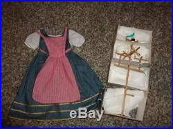 Rare American Girl Felicity Town Fair Outfit W Windmill New
