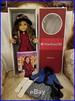 Rebecca American Girl Doll withRETIRED Meet & Extra outfit, EXCELLENT COND