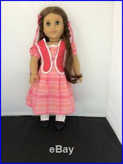 Retired AMERICAN GIRL Doll MARIE GRACE with complete Meet Outfit EUC