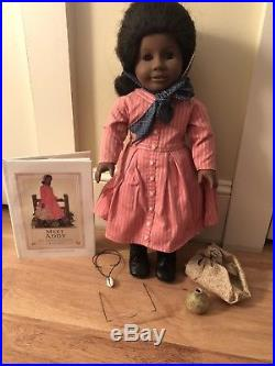 Retired American Girl Addy Walker Pleasant Co. Doll Trunk Outfit Accessories