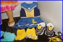 Retired American Girl Doll Jess Meet Outfit Cheerleaders Outfit Plus 2 extra Lot
