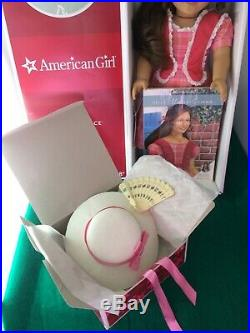 Retired American Girl Doll Marie Grace with Meet Outfit and Meet Accessories Box