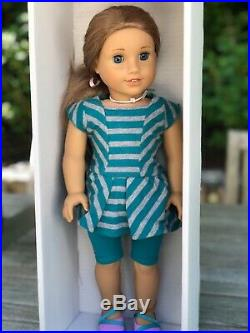 Retired American Girl Doll McKenna Brooks 2012 Girl of the Year + 3 Outfits
