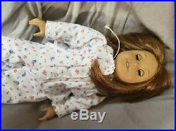 Retired American Girl Doll Mollys Emily Bennett in box with book & pajama outfit
