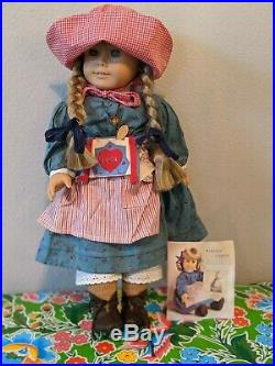Retired American Girl Kirsten Larson Doll with Outfits, 6 Books, and Accessories