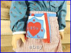 Retired American Girl Pleasant Company Kirsten Doll in Meet Outfit 1994