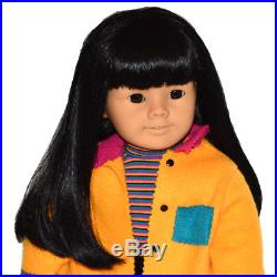 Retired Asian American Girl Doll Today 4four! Black Hairbrown Eyesmeet Outfit