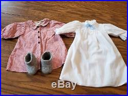 Retired Pleasant Company American Girl Doll Kirsten Larson VGUC and Outfits