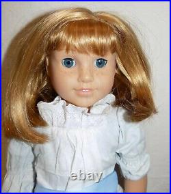Retired Pleasant Company Nellie American Girl Doll in Meet Outfit w Box