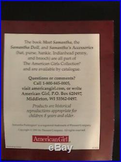 Retired Samantha Parkington American Girl 18 Doll+Meet Outfit
