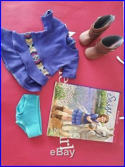 SAIGE American Girl Doll GOTY 2013 Original Outfit & Box Excellent condition