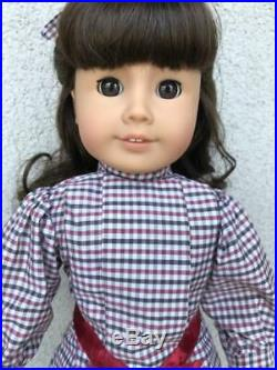 Samantha American Girl/Pleasant Company in Box with Meet Outfit and Accessories