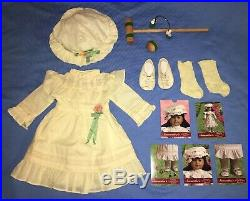 Samantha Lawn Party Croquet Dress Outfit with Wicket, Mallet, Cards COMPLETE