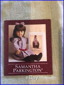 Samantha Parkington, American Girl doll 1998, retired 2009, in box with outfits