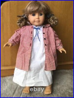 Set! Retired Kirsten American Girl Doll with Bedroom and School Sets, Outfits