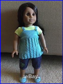 Sonali American Girl- Doll of the Year- Meet Outfit- Excellent Condition