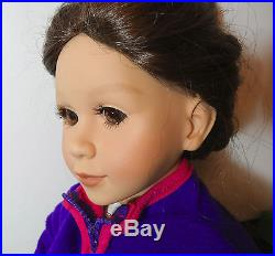 Unique My Twin 23 Poseable Doll 1997 Brunette with brown eyes original outfit