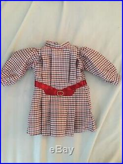 Used American Girl Doll Samantha Parkington Doll, Book, Meet Outfit and Accessor