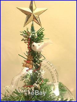 Vintage American Girl CHRISTMAS Tree, Holiday Outfit & Pet Dog Sleigh Gift Set