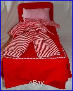 Vintage American Girl Doll Molly Collection 5 Outfits Accessories Bed BO