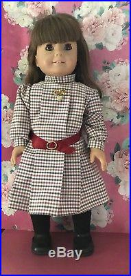 Vintage American Girl Samantha White Body Doll W Meet Outfit