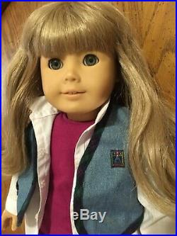Vintage Excellent 1995 American Girl Of Today Doll & 3 Outfits Pleasant Company