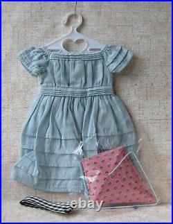 Vintage Pleasant Company American Girl Addy's Kite Flying Outfit Retired
