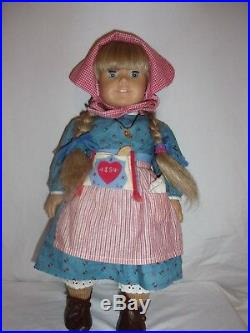Vintage Pleasant Company American Girl doll Kristen with original meet outfit