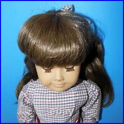 WHITE BODY Pleasant Company Samantha American Girl Doll 1980s in Meet Outfit