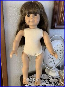 WHITE BODY Pleasant Company Samantha Doll 1980s In Meet Outfit Made In West Germ
