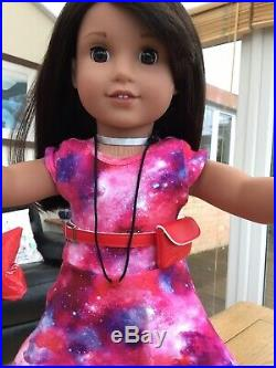 Weekend Deal! American Girl Doll Luciana In Complete Meet Outfit Book Mint
