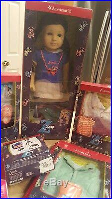 Z Yang American Girl Doll Collection Bundle NIB outfits accessories doll